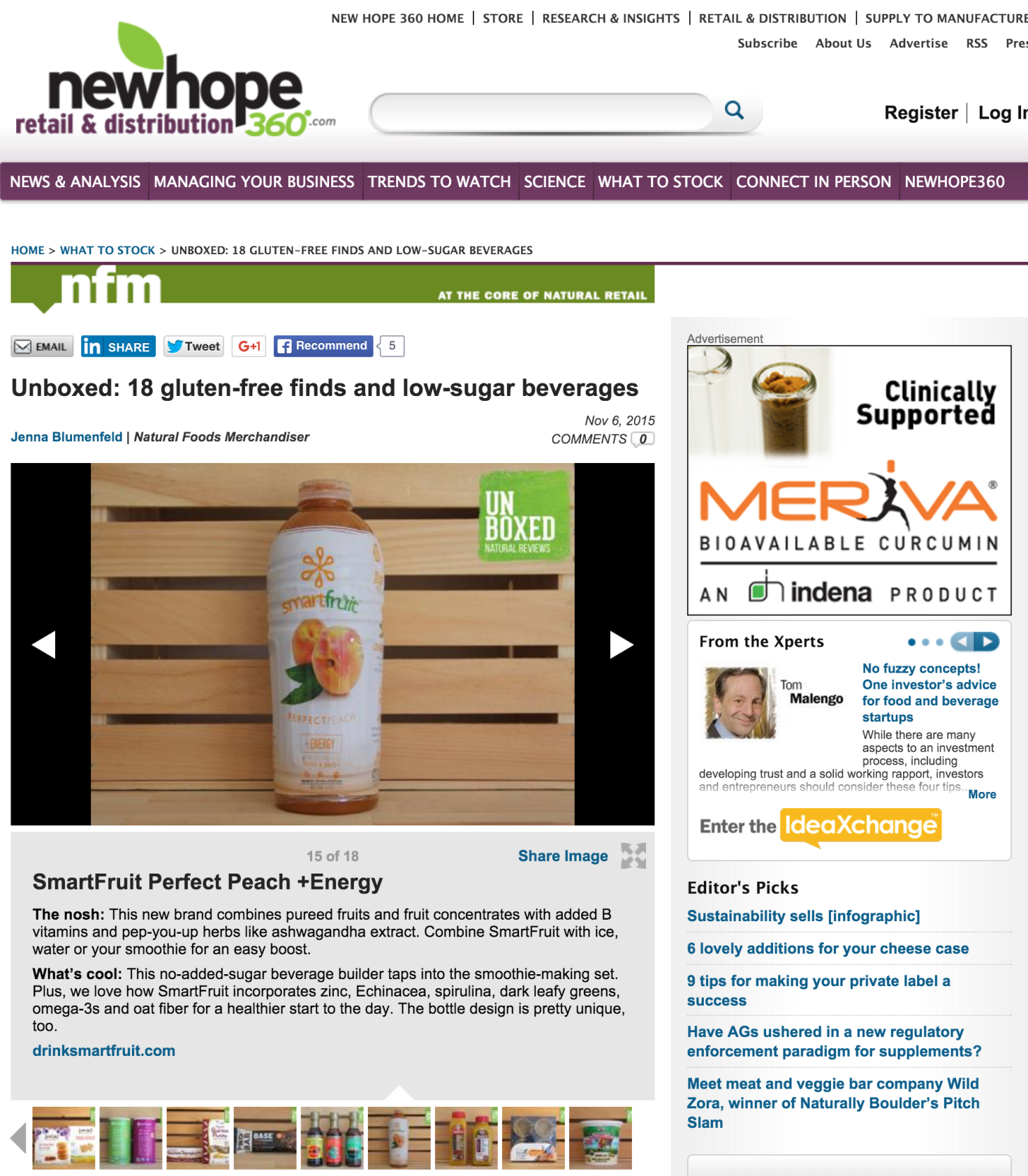 Photo Gallery- Gluten-free foods - Low-sugar beverages - New Hope 360.clipular